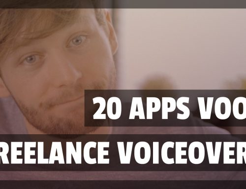 De 20 BESTE APPS voor de freelance voice-over